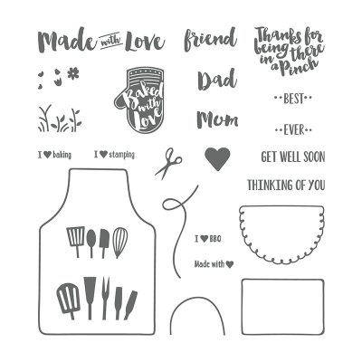 Sweet All Occasion Card Featuring Apron of Love by Stampin' Up!