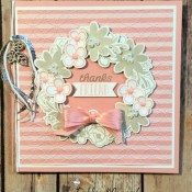 Bouquet Blooms Card for the Sisterhood of Crafters