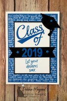 How to Make a Quick Graduation Card with Dies for Cardz 4 Galz