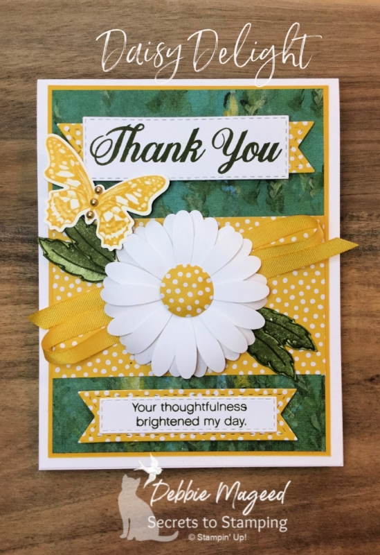 Thank You Card Featuring Daisy Delight Stamp Set by Stampin' Up!