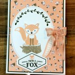 Foxy Friends All Occasion Card for Cardz 4 Galz