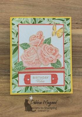 Mosaic Mood Birthday Card for the Alphabet Challenge