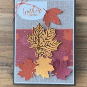 Come to Gather Together with a Thanksgiving Card for Make My Monday