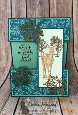 Nature's Beauty Fun Fold Card for Cardz 4 Galz