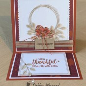 Swirly Frames Easel Card for Make My Monday