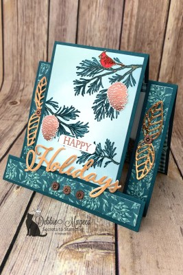 Peaceful Boughs Holiday Card for the Pals Blog Hop
