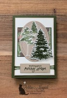 Rooted in Nature Holiday Card for Hand Stamped Sentiments
