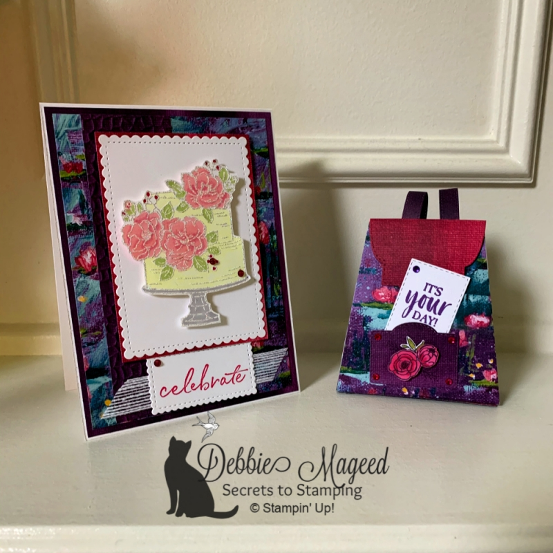 Happy Birthday To You & All Dressed Up Dies by Stampin' Up!