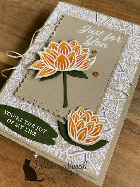 Lovely Lily Pad by Stampin' Up!