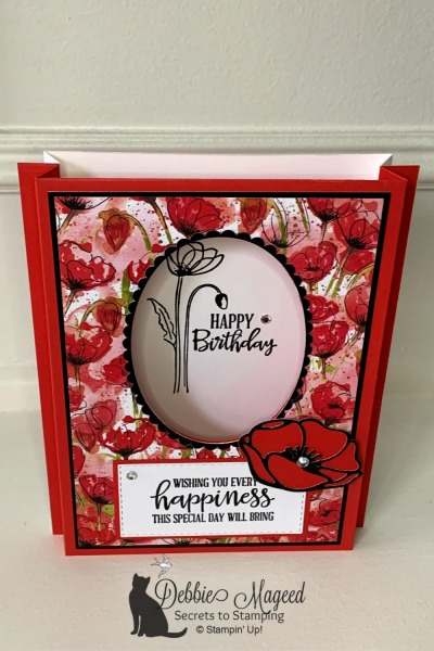 Shadow Box Card Featuring Peaceful Moments by Stampin' Up!