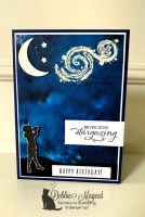 A Birthday Card for Stargazing Youth at the Alphabet Challenge