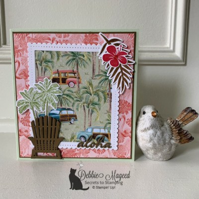 Timeless Tropical All Occasion Card for Make My Monday