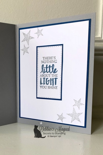 Thank You Card with Morning Star by Stampin' Up!