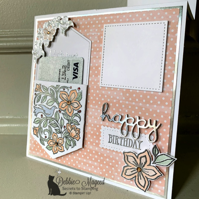Featuring Pocketful of Happiness Stamp Set by Stampin' Up!