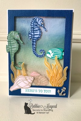 Seaside Notions Birthday Card for Challenge Up Your Life