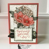 Birthday Card Featuring Beautiful Promenade Stamp Set by Stampin