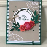 For the Love of Felt Alternative Card by Stampin