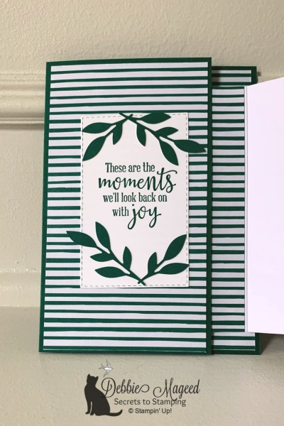 For the Love of Felt Alternative Card by Stampin' Up!