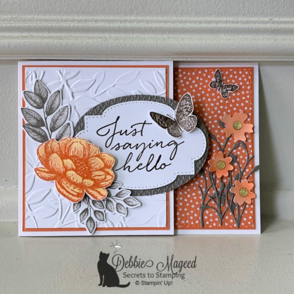 All Occasion Fun Fold Featuring Tasteful Touches Stamp Set by Stampin' Up!