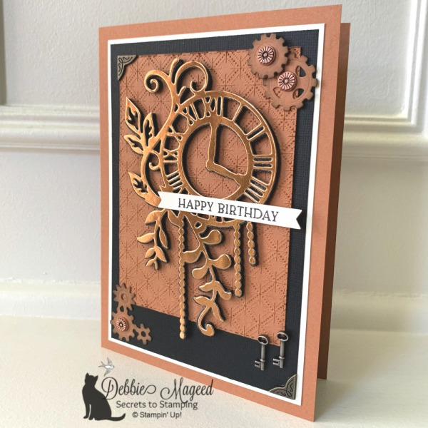 Steampunk Card Using Geared Up Garage by Stampin' Up!