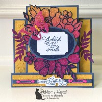 Blossoms in Bloom Center Step Card by Stampin