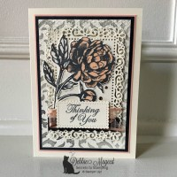 All Occasion Card with Prized Peony Stamp Set by Stampin