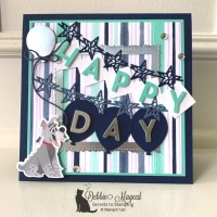 Fun Birthday Card Featuring Playful Pets Suite by Stampin