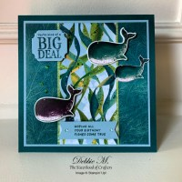 Whale Done Birthday Card by Stampin