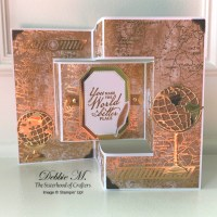 Beautiful World Shutter Card for the Sisterhood of Crafters