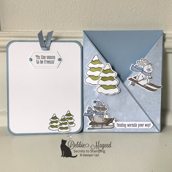 Winter Card Featuring Freezin' Fun by Stampin' Up!