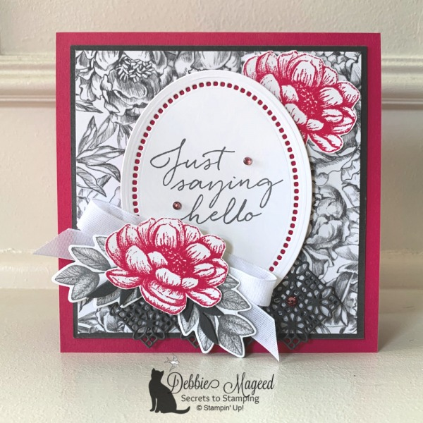 Tasteful Touches Floral Card by Stampin' Up!