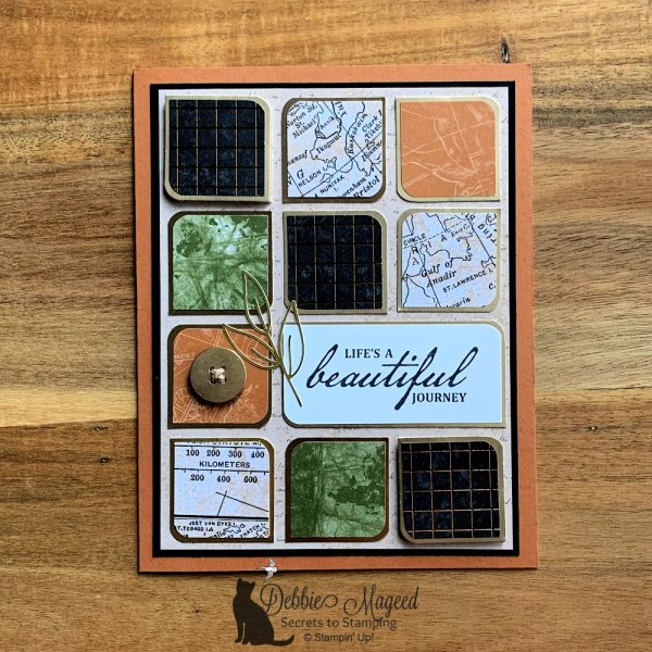Masculine All Occasion Card Featuring Beautiful World Stamp Set by Stampin' Up!