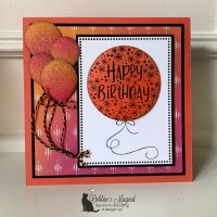 Bright Birthday Card Featuring Hooray To You by Stampin