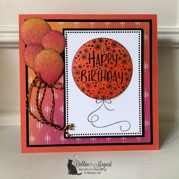 Bright Birthday Card Featuring Hooray To You by Stampin' Up!