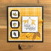 Thanksgiving Card Featuring Beautiful Autumn Stamp Set by Stampin