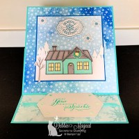 Coming Home Easel Card Piles It On for the Pals Blog Hop