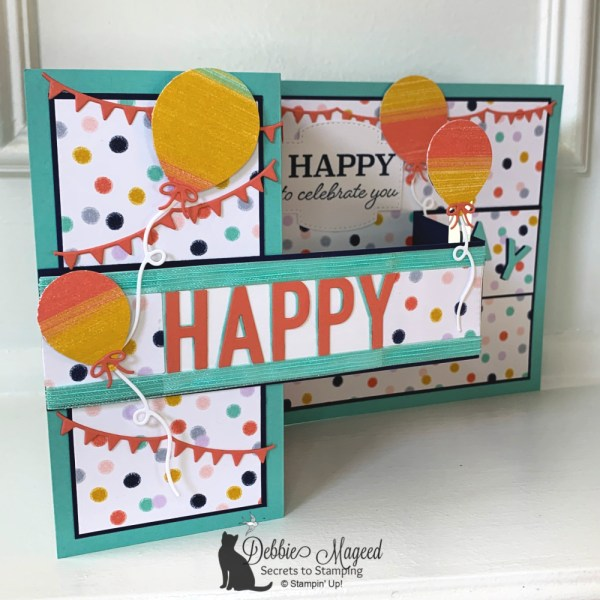 Festive Birthday Fun Fold Card