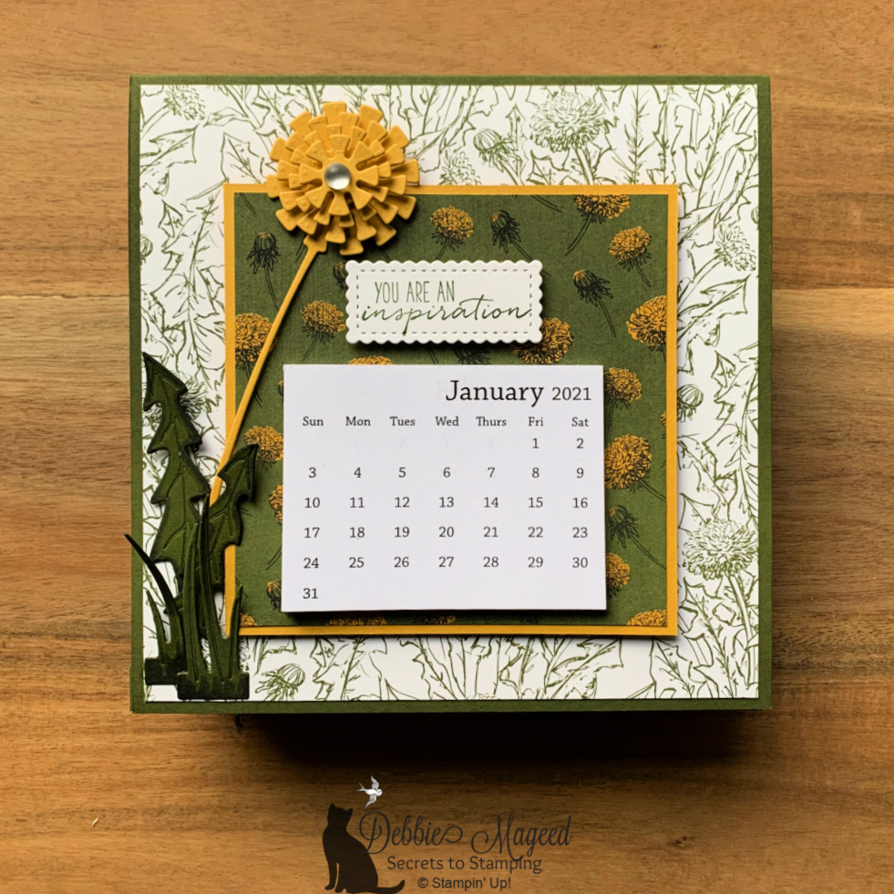 Dandy Wishes Calendar Cards by Stampin' Up!