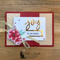 Paper Pumpkin Holiday Card by Stampin