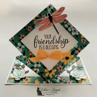 Spring Fun Fold Card Featuring So Sentimental by Stampin