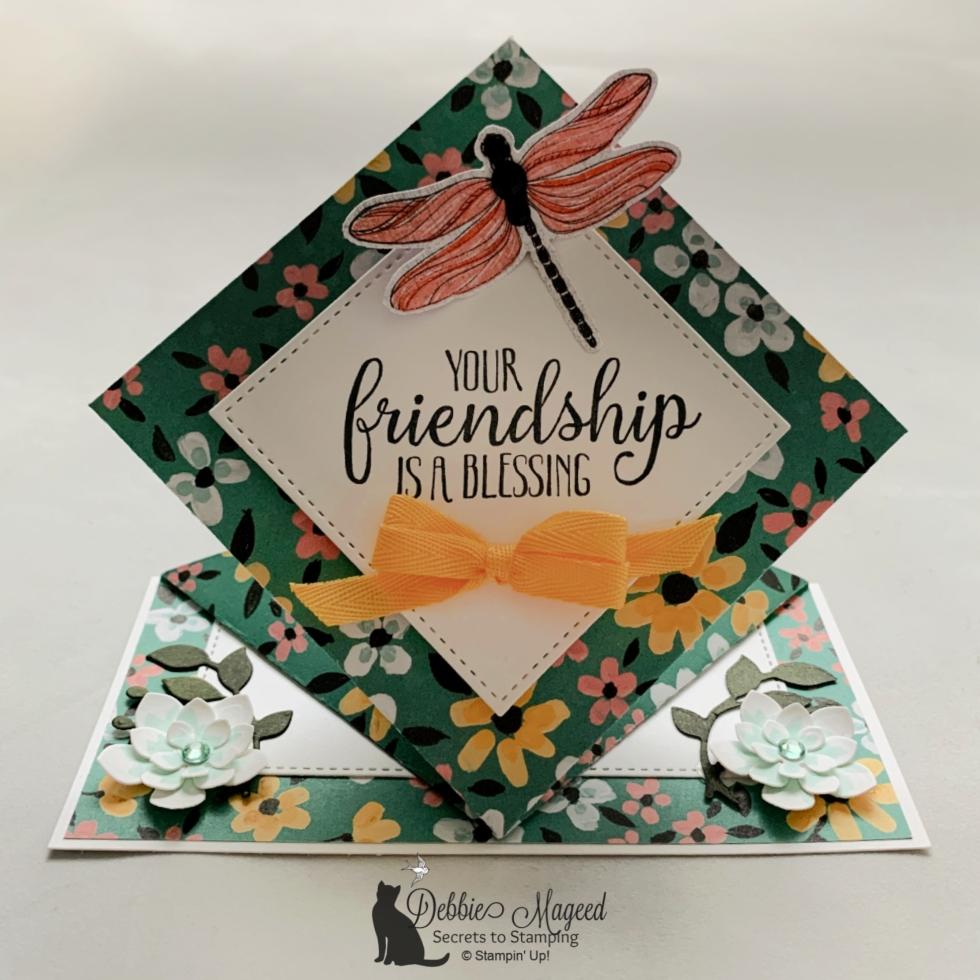 So Sentimental Spring Fun Fold Card for Cardz 4 Galz