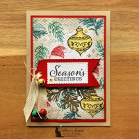 Tag Buffet Christmas Card by Stampin