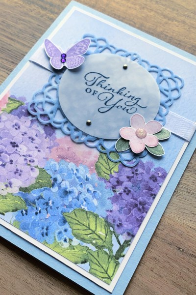 Hydrangea Hill Card by Stampin' Up!