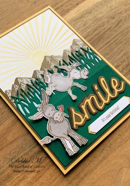 Darling Donkeys Birthday Card by Stampin' Up!