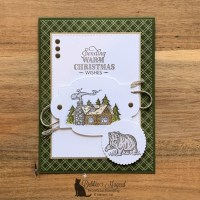Rustic Retreat Holiday Card by Stampin