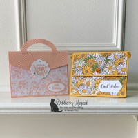 Ridiculously Awesome Fun Fold Purse Card  For Creative Creases Challenge #3