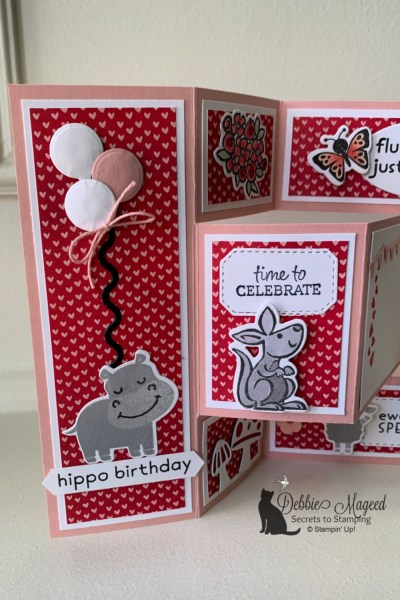 Tri Shutter Birthday Card by Secret To Stamping