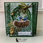Birds & Branches Card for the Alphabet Challenge