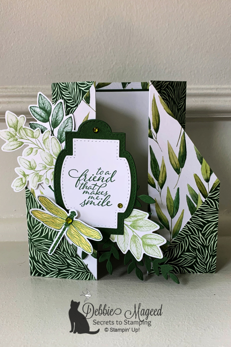How to Make a Double Gate Fold Card for Creative Creases Challenge #4