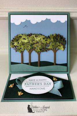 Inspiring Canopy Father's Day Card for the Pals Blog Hop